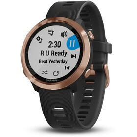 Garmin Forerunner 645 Music GPS Smartwatch rose gold/black